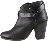 Rag and Bone Rag & Bone Harrow Leather Ankle Boot, Black