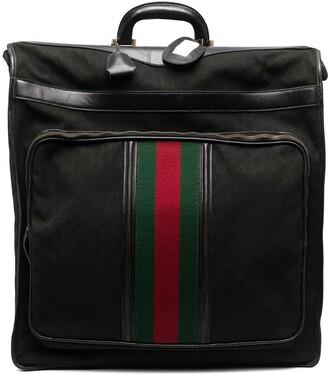Gucci Pre-Owned 1970s Sylvie Web monogram travel bag