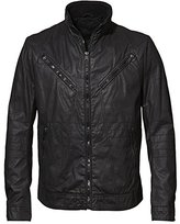 Rogue Men's Waxy Carbon Coated Cotton Moto Jacket