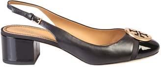 Tory Burch Minnie Cap Toe Slingback Flat Shoes