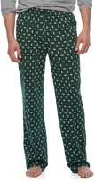Croft & Barrow Big & Tall Geometric Lounge Pants
