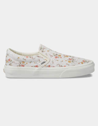 Vans Vintage Slip-On Floral & Marshmallow Womens Shoes