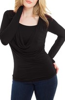 Women's Nurture-Elle Cowl Neck Maternity/nursing Top