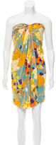 Diane von Furstenberg Silk Abstract Dress