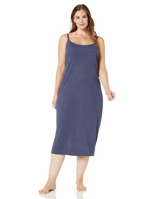 Natori Women's Plus Size Shangri-La Solid Knit Gown