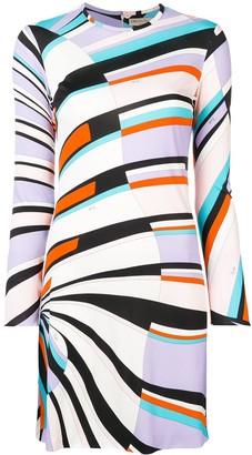 Emilio Pucci Shell Print Mini Dress