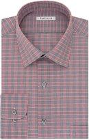 Van Heusen Men's Regular Fit Plaid Spread Collar Dress Shirt