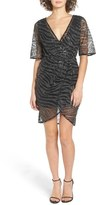 TFNC Women's Gin Illusion Animal Print Dress