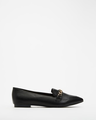 Billini - Women's Black Loafers - Virgo - Size 10 at The Iconic