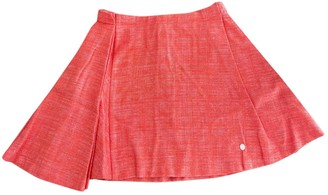 Christian Dior Orange Cotton Skirts