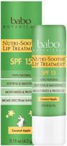 Nutri-Soothe Lip Treatment - Coconut Apple by Babo Botanicals (0.15oz Lip Balm)