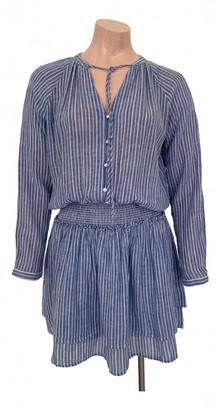 Rails Blue Linen Dress for Women