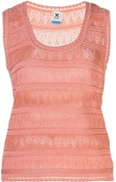 M Missoni Perforated Vest