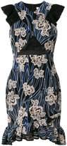 Three floor Paradiso floral print dress