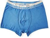Calvin Klein Underwear Magnetic Cotton Trunk Victorian Blue