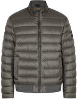 Belstaff Circuit grey quilted shell jacket
