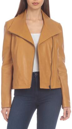 Badgley Mischka Envelope Leather Jacket