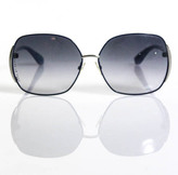 Marc by Marc Jacobs Blue Plastic Metal Round Sun Glasses