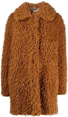 Stella McCartney Fur Free Fur faux-shearling Josephine coat