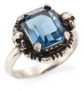 Alexander McQueen Skull Crystal Ring