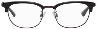 McQ Black and Grey Square Glasses
