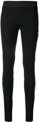 Stella McCartney lace-embellished leggings