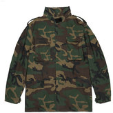 Yeezy Camo-Print Canvas Jacket, Green