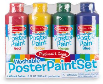 Melissa & Doug Poster Paint - Set of 4