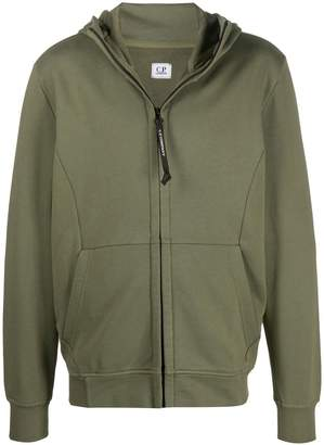 C.P. Company Goggle zip-up cotton hoodie