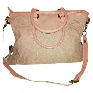 Louis Vuitton Pink Cloth Handbags