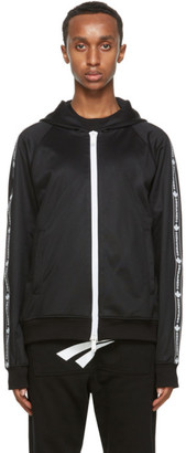 DSQUARED2 Black Technical Track Jacket