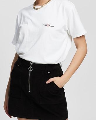 Topshop Petite Wild Hearts T-Shirt