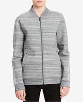 Calvin Klein Jeans Men's Striped Neoprene Jacket