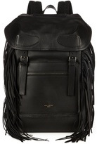 Givenchy Rider Fringed Leather Backpack