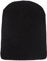 The Elder Statesman Women's Kisser Cashmere Beanie-BLACK