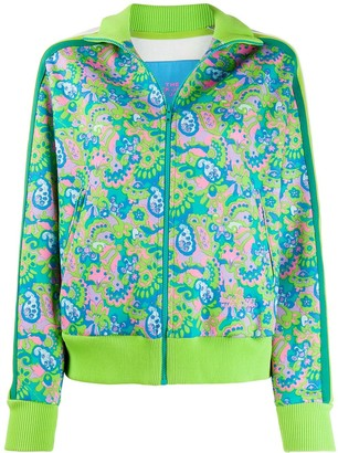 Marc Jacobs Paisley Print Zipped Jacket