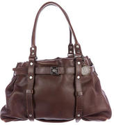 Lanvin Textured Leather Tote