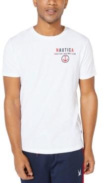 Nautica Men's Big & Tall Sailing Club Logo T-Shirt