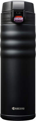 Kyocera 17Oz Flip Top Stainless Steel Insulated Hot & Cold Travel Mug