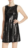 Cupcakes And Cashmere Creston Sequin Shift Dress