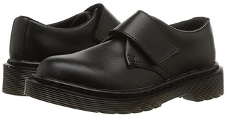 Dr. Martens Kid's Collection Kamron (Little Kid/Big Kid) (Black T Lamper) Kid's Shoes