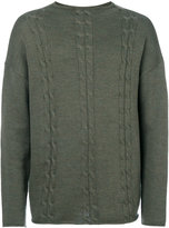 Societe Anonyme cable detail Big Braides jumper - men - Merino - M