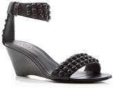 Ash Dune Studded Wedge Sandals