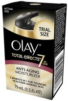 Olay Total Effects 7-in-1 Anti-Aging Moisturizer, Trial Size - 0.5 Fl Oz (15 ml)
