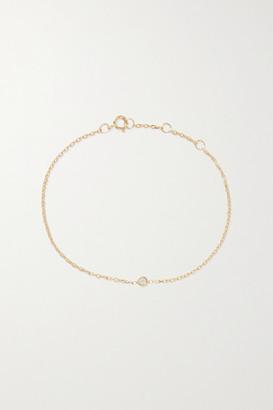 STONE AND STRAND Gold Diamond Bracelet - one size