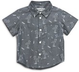 Sovereign Code Boys' Flamingo Print Button Down Shirt