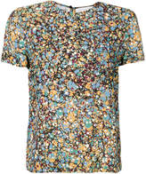 Victoria Beckham abstract print T-shirt