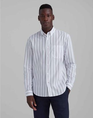 Club Monaco Thin Striped Shirt