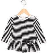 Kate Spade Girls' Long Sleeve Striped Dress
