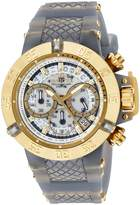 Invicta Women's 'Subaqua' Quartz Stainless Steel and Silicone Casual Watch, Color:Two Tone (Model: 24379)